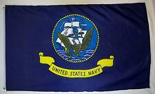 United States Navy Ship Flag 3' x 5' Indoor Outdoor Officially Licensed Banner