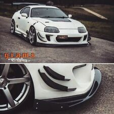 Toyota Supra Ridox Style Front Splitter Lip+End Plates for Performance, Racing 6