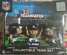 Baltimore Ravens Lil Teammates Quaterback Running Back Lineman Team Set