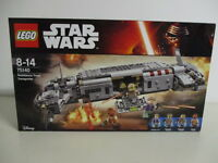 LEGO STAR WARS 75140 RESISTANCE TROOP TRANSPORTER nuovo sigillato Princess Leia