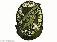 Patch 183°Rgt. Paracadutisti Nembo Verde per Mimetica Vegetata Esercito Italiano