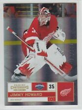 2011-12 PANINI CONTENDERS JIMMY HOWARD GOLD PARALLEL  /100 #93 Red Wings