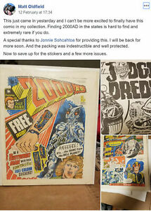 2000AD COMIC BAGS AND BOARD & PROGS 1-2200 PICK PROGS YOU WANT HALLOWEEN SALE .