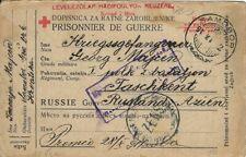 POW CAMP FOR AUSTRO-HUNGARY LAGER TASKENT RUSSIA 1917 CROATIA SAMOBOR @@