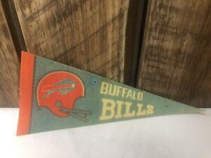 Buffalo Bills 1970's mini pennant / With Red Helmet EX RARE.   GO BILLS 🏈🏈🏈