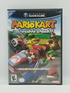Mario Kart: Double Dash (Nintendo GameCube) BLACK LABEL COMPLETE COLLECTOR GEM