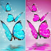 Partial Drill DIY Butterfly Diamond Painting Embroidery Cross Stitch Art Kit
