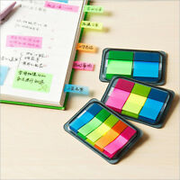 5 Colors Sticky Post-It Notes Paper Diary Notebook Memo Pad Tab Note Book Office