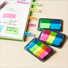 5 Colors Sticky Notes Paper Diary Notebook Memo Pad Tab Note Book Office