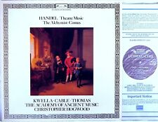 L'OISEAU-LYRE (DECCA) Handel HOGWOOD Theatre Music ALCHYMIST Kwella DSLO-598 EX+