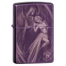 "Zippo ""Anne Stokes-Gothic Design"" Purple Abyss Finish Lighter, 29717"