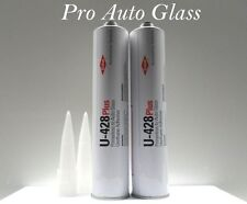 2 Dow U-428 Plus Windshield Urethane Primerless Adhesive Glue Sealant window