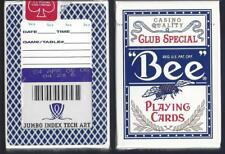1 DECK Bee Wynn Casino Blue Violet vintage Ohio-made playing cards