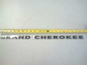 2012-2013 Jeep Grand Cherokee BLACKED OUT Door Nameplate Emblem OEM 68193410-AA