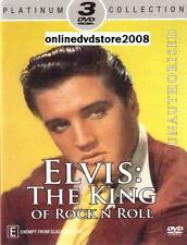 ELVIS PRESLEY - The KING of ROCK N ROLL - Music Doco (3 DVD SET) NEW SEALED