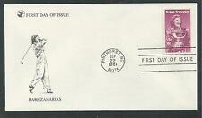 """# 1932 BABE ZAHARIAS, GOLF 1981 """"Reader's Digest"""" First Day Cover"""