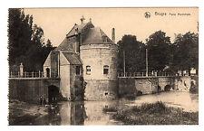 Porte Marechale - Bruges Photo Postcard c1910