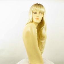 Perruque femme mi-longue méchée blond racine blond foncé NOEMIE YS