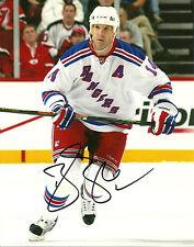 Brendan Shanahan Hand Signed 8x10 Photo New York Rangers NHL Autograph