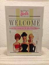 "**1996 OFFICIAL BARBIE COLLECTOR'S CLUB MEMBERSHIP KIT ""DATE AT EIGHT""  NIB**"