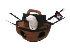 Marshall Pirate Ship Hanging Ferret Hammock (Free Shipping In USA)