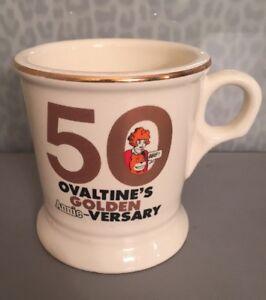 Ovaltine's 50 Golden Annie-Versary Mug 1981 Chicago Tribune Larido