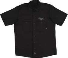 More details for dickies / genuine fender custom shop eagle work shirt, size large