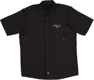 Dickies / Genuine Fender Custom Shop Eagle Work Shirt, Size Large