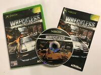 PAL ORIGINAL XBOX GAME WRECKLESS THE YAKUZA MISSIONS +BOX & INSTRUCTI'S COMPLETE