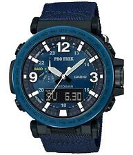 Casio Protrek PRG600YB-2 Triple Sensor Ana-Digital Tough Solar Navy Blu Watch
