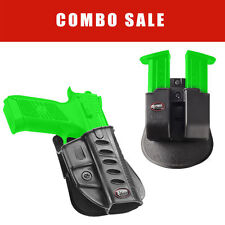 Fobus Paddle Holster & Double Mag Pouch for CZ 75 P-07 DUTY & P09 - Duty 6909ND