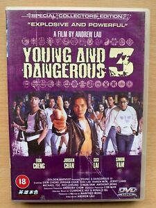Young and Dangerous 3 DVD 1996 Andy Lau Hong Long Gangster Triad Thriller Movie