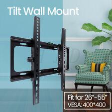 Tilt TV Wall Mount Stand Bracket for 26 32 40 46 55 Inch LED LCD Plasma Flat TVs