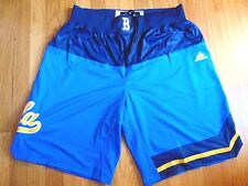 ADIDAS AUTHENTIC NCAA UCLA BRUINS BASKETBALL GAME SHORTS L+2""