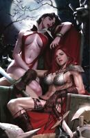 VAMPIRELLA  RED SONJA  #1  NM  (INHYUK LEE VIRGIN VARIANT)  400 PRINT RUN