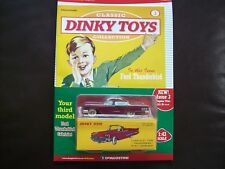 Classic Dinky Toys Collection magazine Part # 3 Ford Thunderbird Cabriolet