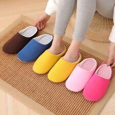 Women Indoor Plush Slippers Winter Slides Bedroom Soft Cute Cotton Non-slip Shoe