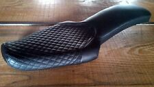 SULLY'S CUSTOMS SPORTSTER SEAT 2UP EXCLUSIVE  BLACK DIMAMOND STITCH 1982-2003