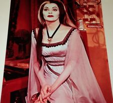 YVONNE DE CARLO / THE MUNSTERS /  8 X 10  COLOR  PHOTO