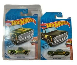 Hot Wheels 2020 '69 Chevy Pickup Super Treasure Hunt w/ Protector Case