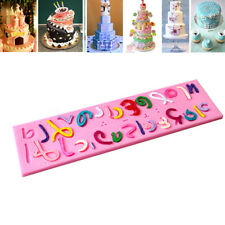 Israel Hebrew Letters Silicone Mold Shape Cake Decorating Fondant Mould Tools