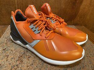 DS Adidas Tubular Runner Collegiate Orange/C Orange/Core Black B25524 US Size 13