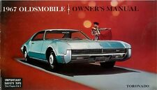 1967 Oldsmobile Toronado Owners Manual User Guide Reference Operator Book Fuses