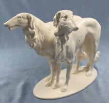 Barsoi porzellanfigur hundefigur figur windhund hund porzellan selten