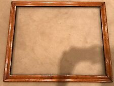 Antique 28x22 Large Birdseye Maple Wood Picture Frame Victorian Period 19th Cent
