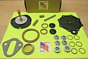 1953 TO 1969 WILLY'S JEEP L4 F-HEAD MODERN FUEL PUMP REBUILD KIT DOUBLE ACTION