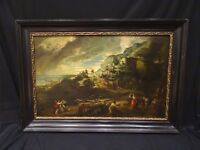 Huge 17th Century Classical Gods Ancient Arcadian Landscape Peter Paul Rubens