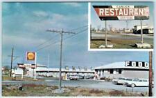 NAPANEE, ONTARIO  Canada   Roadside  CANUCK RESTAURANT  ca 1960s  Postcard