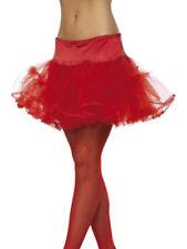 Costumi e travestimenti gonna rossa Smiffys per carnevale e teatro da donna