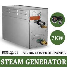 7KW Steam Generator Steamer Shower Sauna CE Approved Timer Adjustable